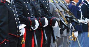 Forze Armate: Carabinieri, Polizia, GdF